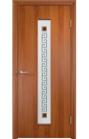 Двери Верда С-17 Груша Стекло Сатинато с фьюзингом квадрат