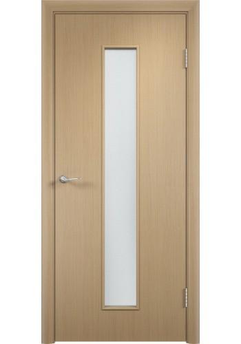Двери Верда С-17 Беленый дуб Стекло Сатинато