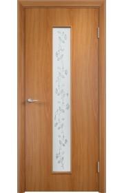 Двери Верда С-17 Миланский орех Художественное остекление