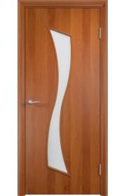 Двери Верда С-19 Груша Стекло Сатинато