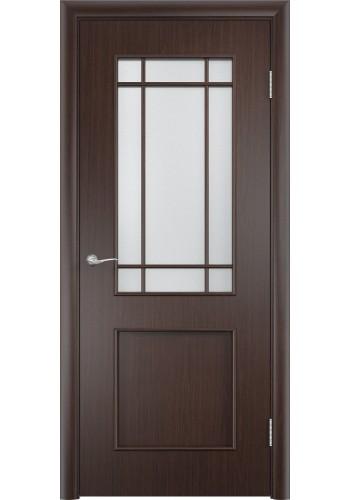Двери Верда С-20 Венге Стекло Сатинато
