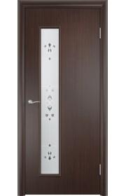 Двери Верда С-22 Венге Художественное остекление Барокко