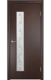 Двери Верда С-22 Венге Художественное остекление Вьюн