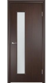 Двери Верда С-22 Венге Стекло Сатинато