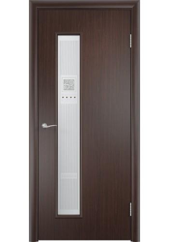 Двери Верда С-22 Венге Художественное остекление Модерн