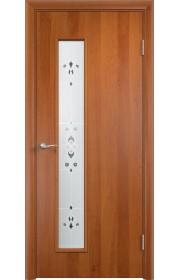 Двери Верда С-22 Груша Художественное остекление Барокко