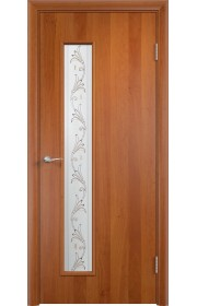 Двери Верда С-22 Груша Художественное остекление Вьюн