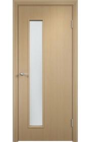 Двери Верда С-22 Беленый дуб Стекло Сатинато