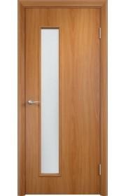 Двери Верда С-22 Миланский орех Стекло Сатинато
