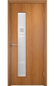 Двери Верда С-22 Миланский орех Художественное остекление Модерн