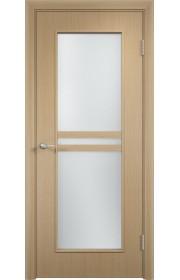 Двери Верда С-23 Беленый дуб Стекло Сатинато