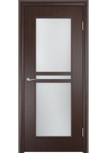 Двери Верда С-23 Венге Стекло Сатинато