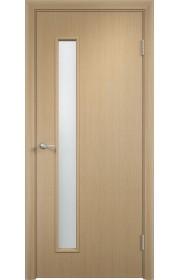 Двери Верда С-28 Беленый дуб Стекло Сатинато