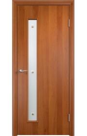 Двери Верда С-28 Груша Стекло Сатинато с фьюзингом