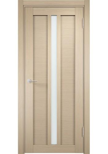 Двери Верда Венеция 05 Беленый дуб Стекло Сатинато Люкс