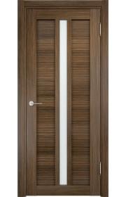 Двери Верда Венеция 05 Венге мелинга Стекло Сатинато Люкс