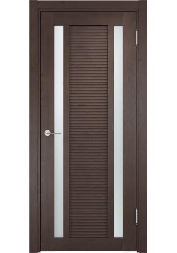 Двери Верда Венеция 06 Венге Стекло Сатинато Люкс