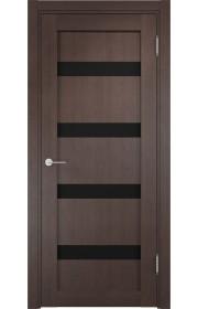 Двери Верда Верона 05 Венге Стекло Черный Триплекс