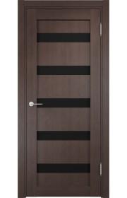 Двери Верда Верона 06 Венге Стекло Черный Триплекс
