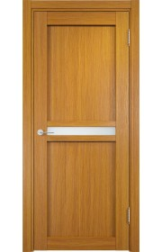 Двери Верда Ливорно 01 Орех Мелинга Стекло Сатинато Люкс