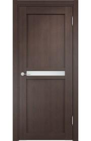 Двери Верда Ливорно 01 Венге Стекло Сатинато Люкс