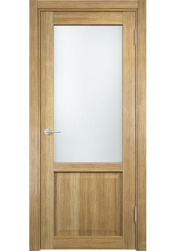 Двери Верда Рома 24-2 Тик Стекло Сатинато Люкс