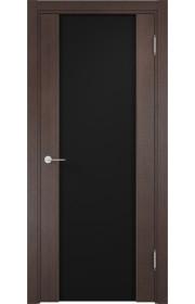 Двери Верда Сан-Ремо 01 Венге Стекло Черный Триплекс