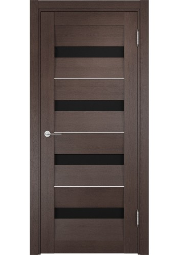 Двери Верда Сицилия 12 Венге Стекло Черное