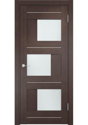 Двери Верда Сицилия 14 Венге Стекло Сатинато Люкс