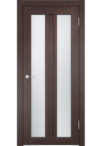 Двери Верда Флоренция 28 Венге Стекло Сатинато Люкс