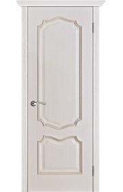 Двери Вист Премьера Белая патина ДГ
