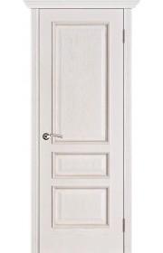 Двери Вист Вена Белая патина ДГ