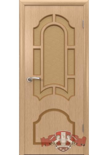 Дверь ВФД Кристалл 3ДР1 Светлый дуб