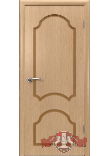 Дверь ВФД Кристалл 3ДГ1 Светлый дуб