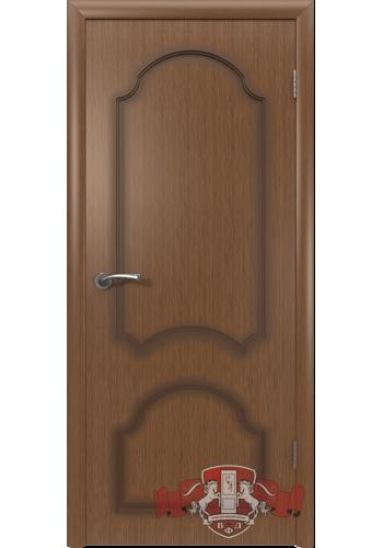 Двери ВФД Кристалл 3ДГ3 Орех Глухие
