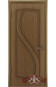 Дверь ВФД Грация 10ДГ3 Орех Глухая