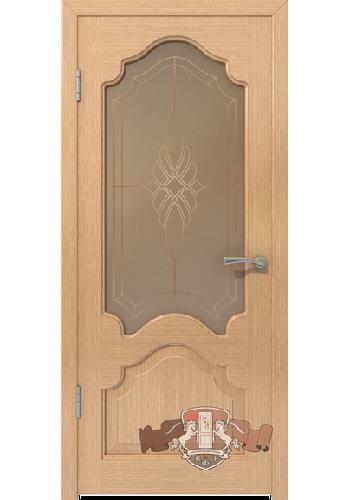 Двери ВФД Венеция 11ДО1 Светлый дуб со стеклом
