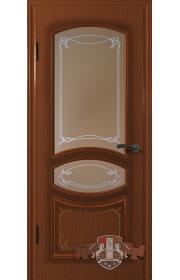 Двери ВФД Версаль 13ДР2 Макоре со стеклом