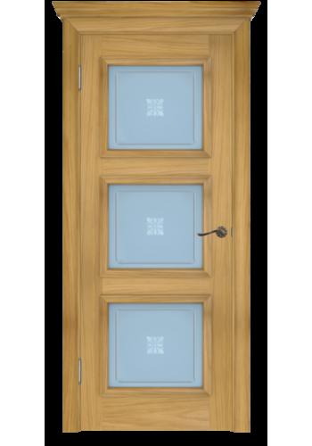 Двери Белоруссии Белла-3 Натуральный Дуб ДО