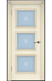 Двери Белоруссии Белла-3 Слоновая Кость ДО