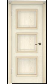 Двери Белоруссии Белла-3 Слоновая Кость ДГ