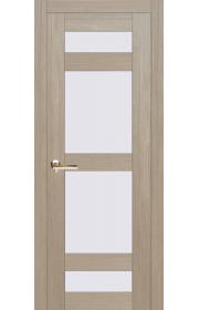Дверь Европан Техно 2 лиственница 3D ДО