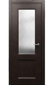 Дверь Краснодеревщик 33.24 CPL черный дуб ДО