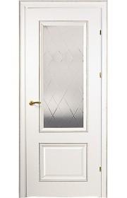 Дверь Краснодеревщик 20.24 CPL белая ДО