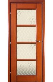 Дверь Краснодеревщик 33.40 Бразильская груша