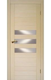 Дверь Матадор Руно беленый дуб ДО(3 стекла)