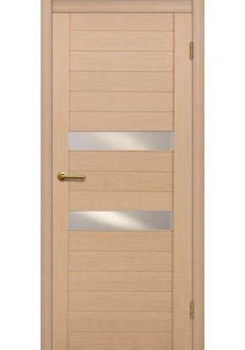 Дверь Матадор Руно беленый дуб ДО(2 стекла)