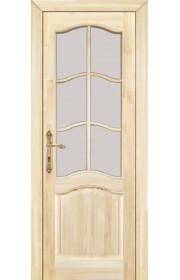 Дверь межкомнатная ПМЦ 7 ДПОФ некрашеная под остекление