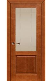 Дверь ПМЦ 13 ДОФ темный лак ДО
