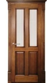 Дверь ПМЦ 15 ДОФ темный лак+патина ДО